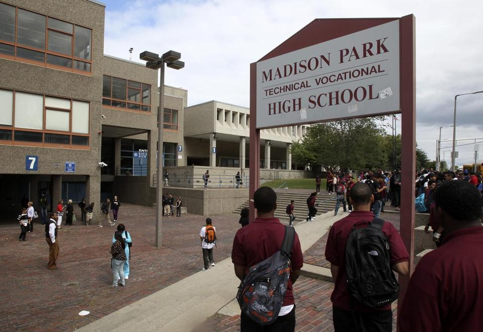 Madison Park has been plagued for years by lackluster state standardized test scores.
