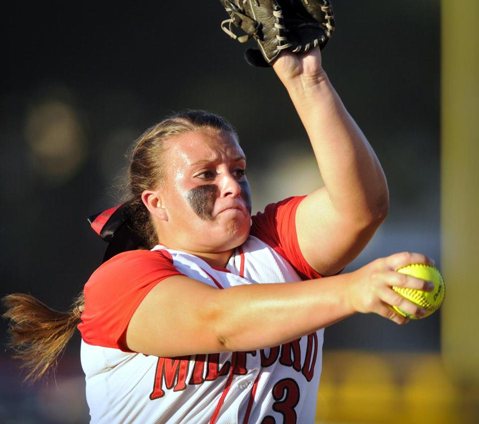 Milford's Shannon Smith ended her stellar career on top.