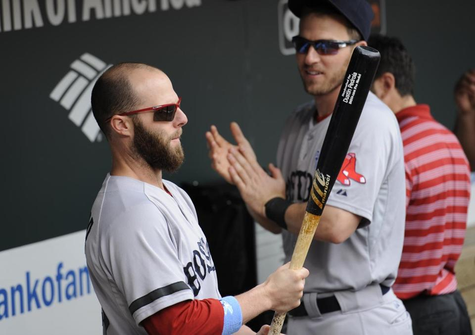 Dustin Pedroia started the first 70 games of the season and had played all but 10 innings at second base.
