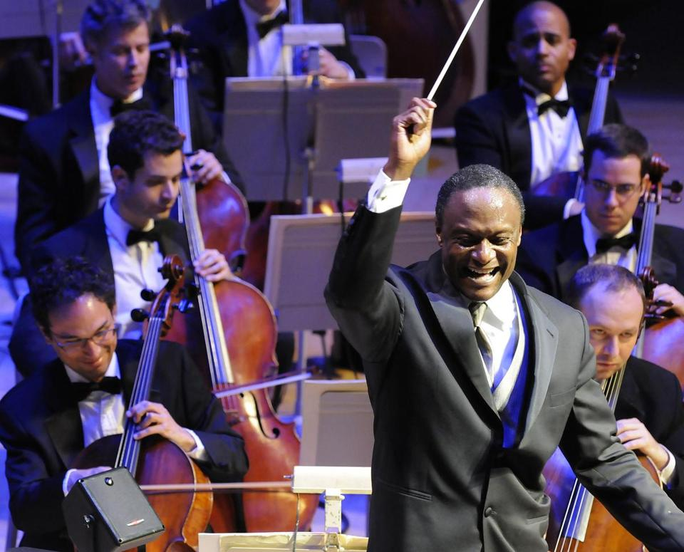 "Thomas Wilkins wants ""to broaden the ownership of classical music."""