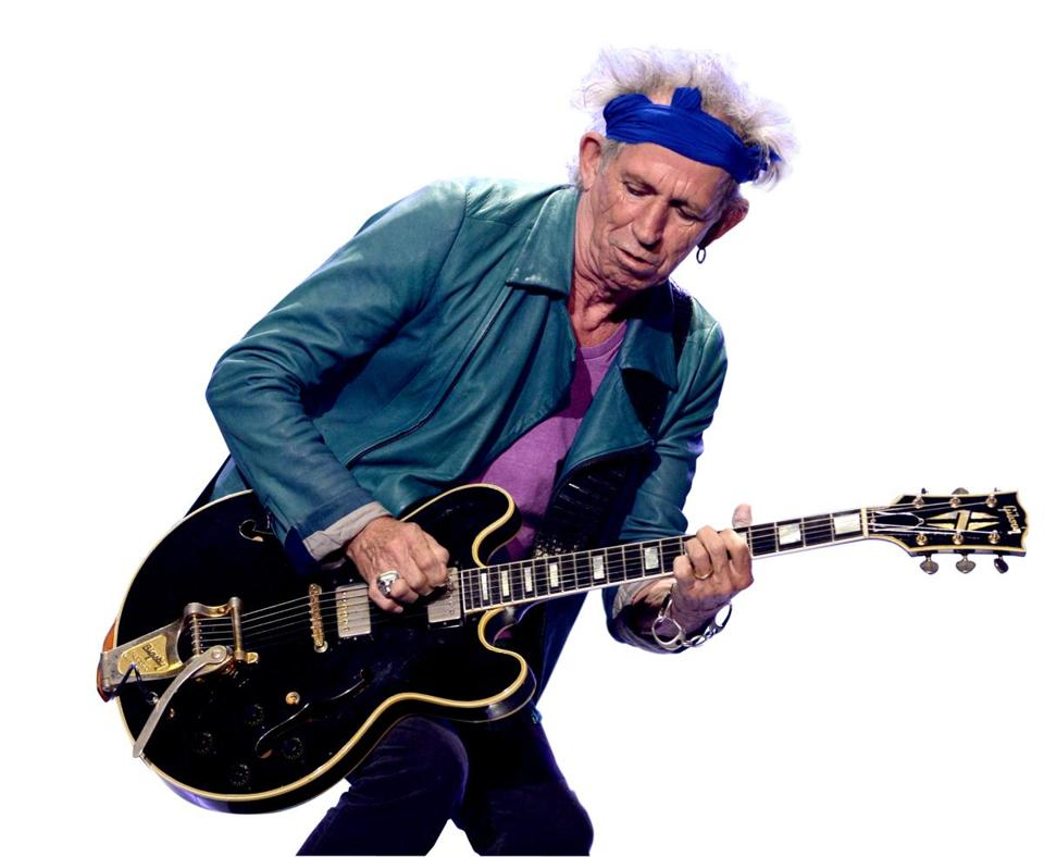 Keith Richards is 69 — the same age as bandmate Mick Jagger.
