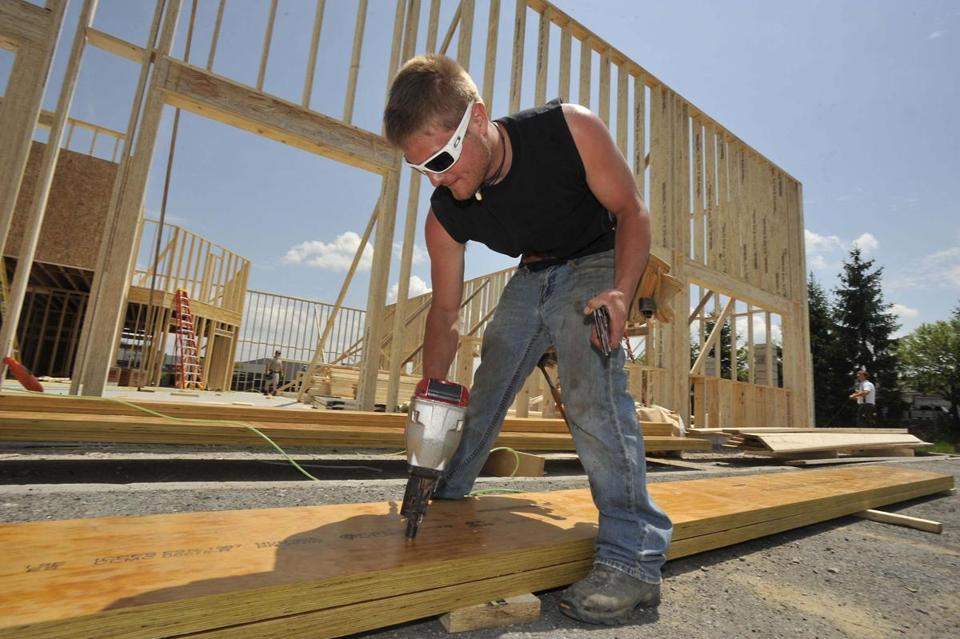 Builders worry that rising loan rates will hurt business.