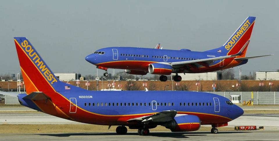 A spokesman for Southwest Airlines said all departing flights were grounded for part of Friday due to a system-wide computer problem.