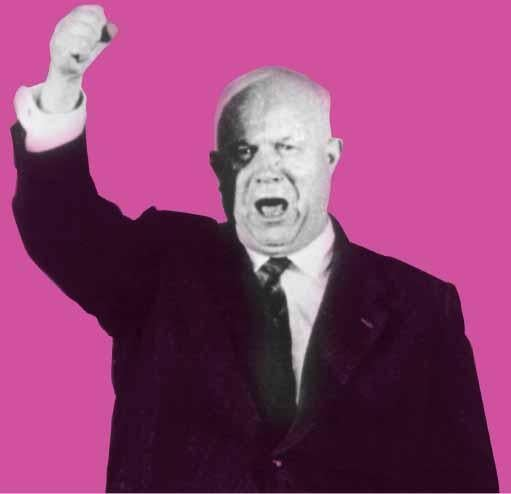 Between 1958 and 1961, Soviet Premier Nikita Khrushchev issued a series of ultimatums demanding that the Allies pull troops out of West Berlin. Khrushchev repeatedly backed down, reiterated his threats, and backed down again.