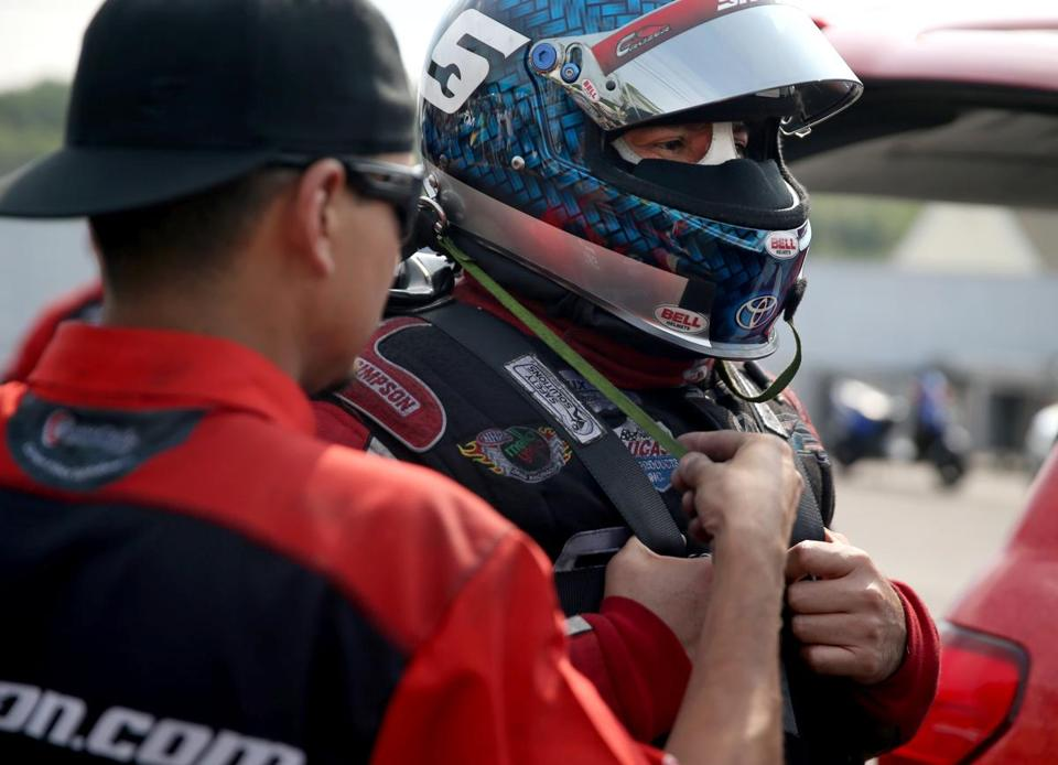 Funny Car driver Cruz Pedregon, who also serves as the chief of his seven-person crew, doesn't use his computer analysis for guidance nearly as much as his competitors do.
