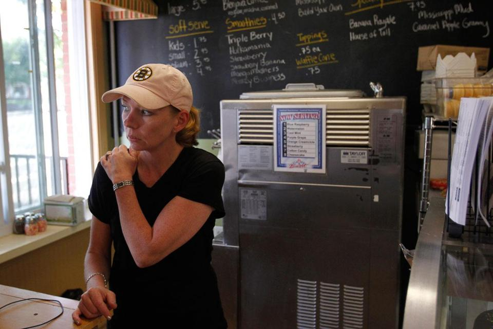 """People are just tired of it,"" said Dawn Curran, a manager at the  SweetWorks shop in North Attleborough. ""They just want it gone."""