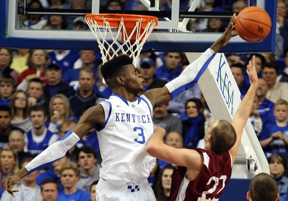 Everett's Nerlens Noel, whose lone season at Kentucky was cut short by an ACL injury, is out to erase any doubts that he belongs in the NBA.