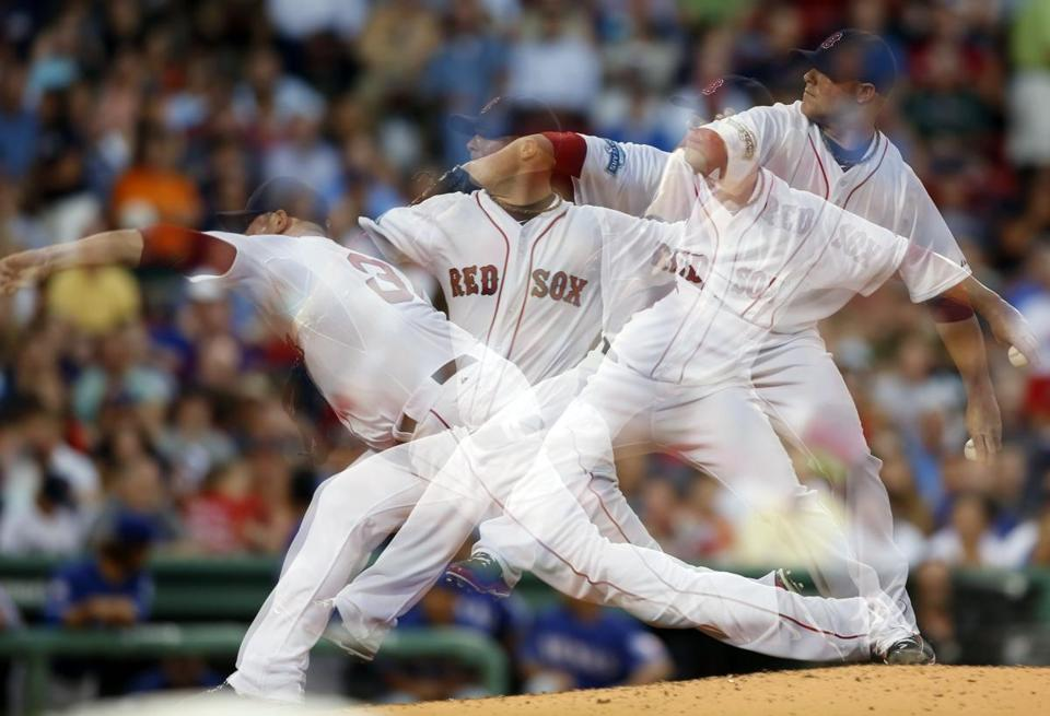 The anatomical differences that make chimps poor throwers are the ones that might make some people better or worse at throwing. Jon Lester is one beneficiary of the evolution.