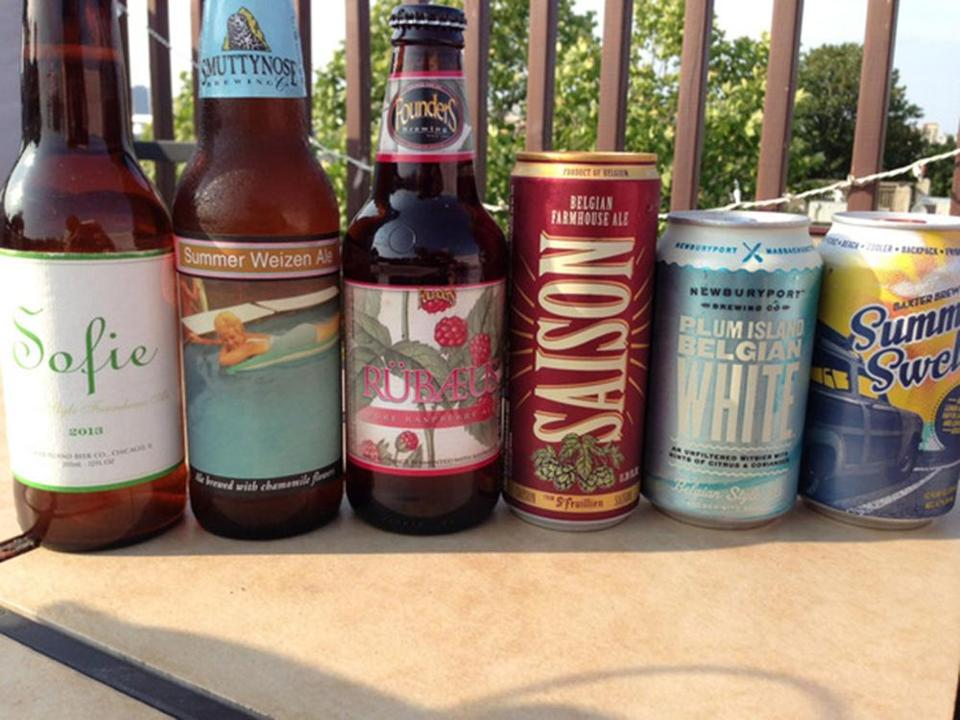 6 craft beers for summer drinking
