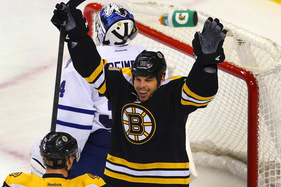 The Bruins say Nathan Horton is a top priority to re-sign, and they might have to exceed the salary cap to pay him.