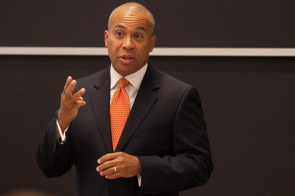 The $34 billion spending plan approved by lawmakers was sent to Governor Deval Patrick on Monday for his approval.