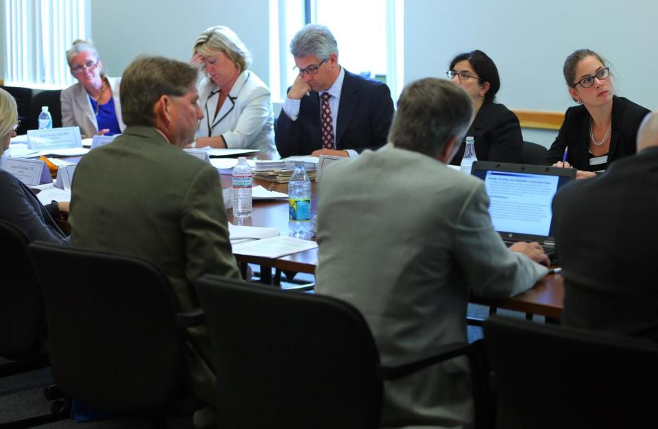 The pharmacy board met at its offices earlier this month. A review of past meeting minutes showed the board met without a proper quorum at least twice since 2010.