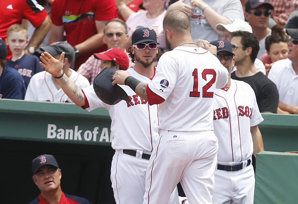 The Red Sox entered July as the only team in the American League with 50 wins.