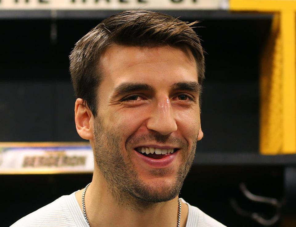 Patrice Bergeron is due for a long-term contract extension from the Bruins.