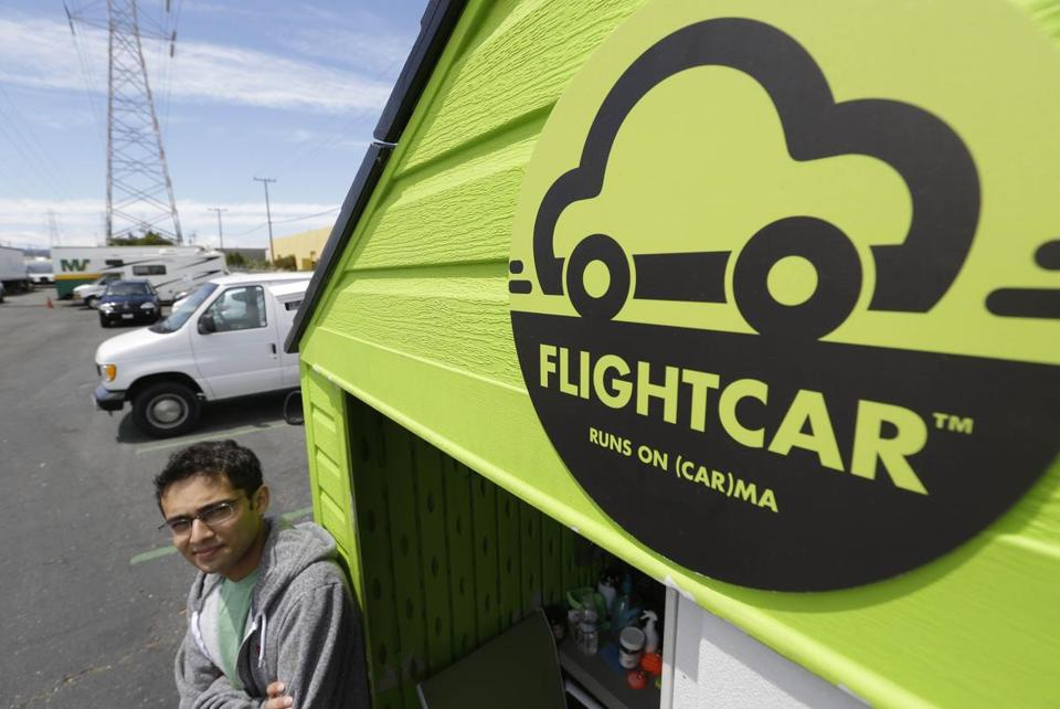 FlightCar chief executive Rujul Zaparde is facing a lawsuit over the firm's operations at San Francisco's airport.
