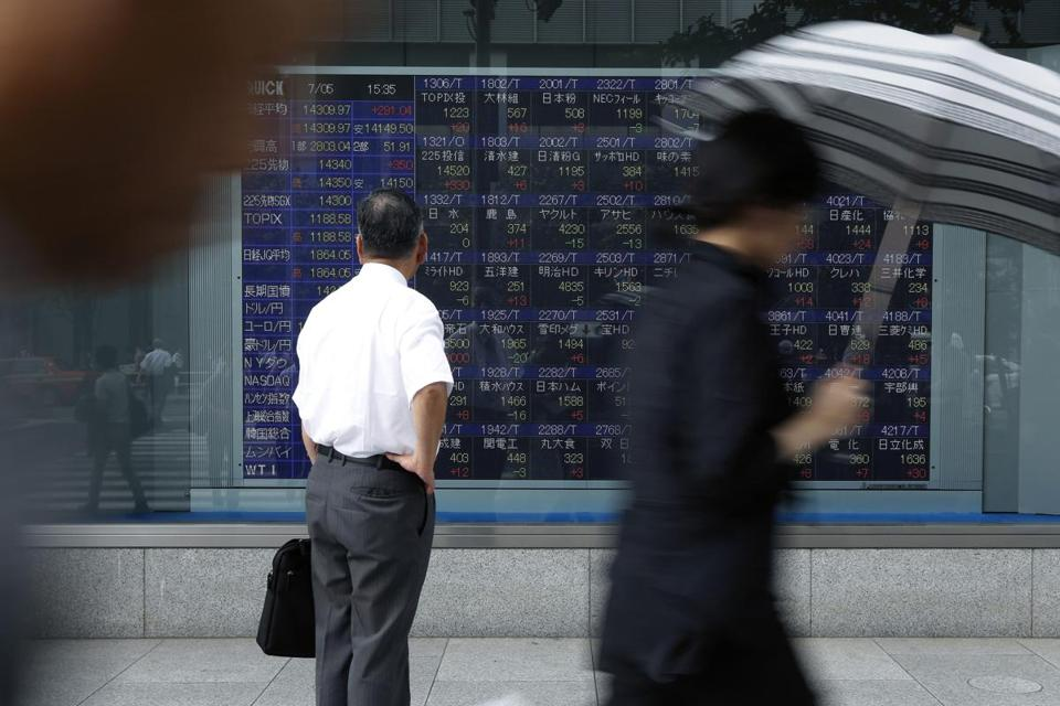 The Japanese market plunged 20 percent beginning in late May, but since June 13 has scored a quick turnaround.