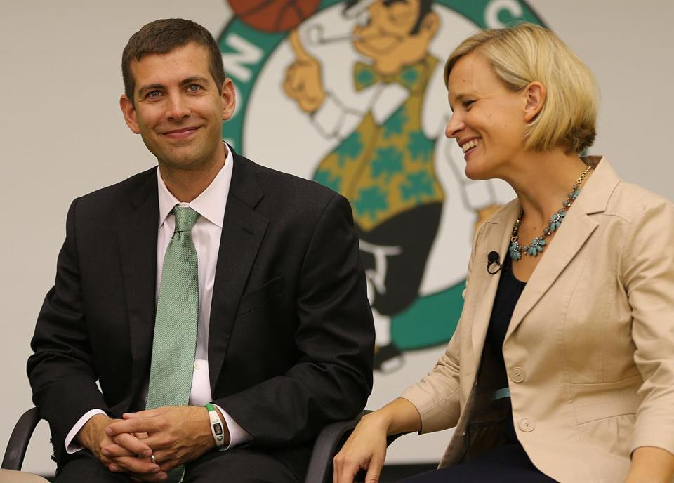 Several Celtics showered praise on new coach Brad Stevens.