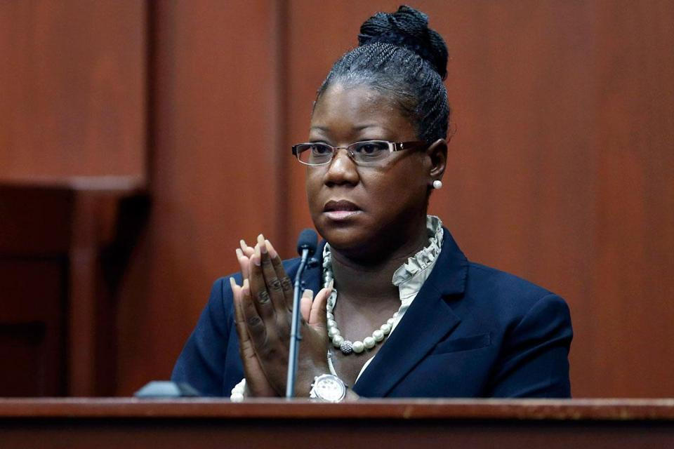 Sybrina Fulton, mother of the late Trayvon Martin, testified at the murder trial of George Zimmerman.