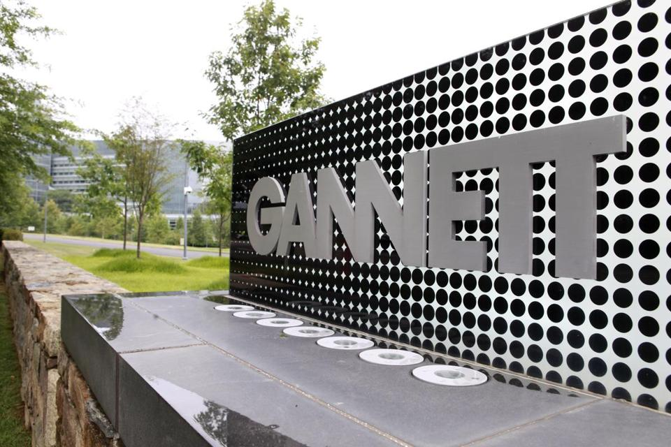 Gannett paid $1.5 billion in June for 20 television stations with signals that reach viewers in battleground states.