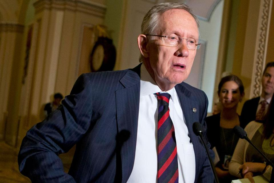 House majority leader Harry Reid, frustrated with GOP delaying tactics on judges and nominations, may try to change the Senate rules.