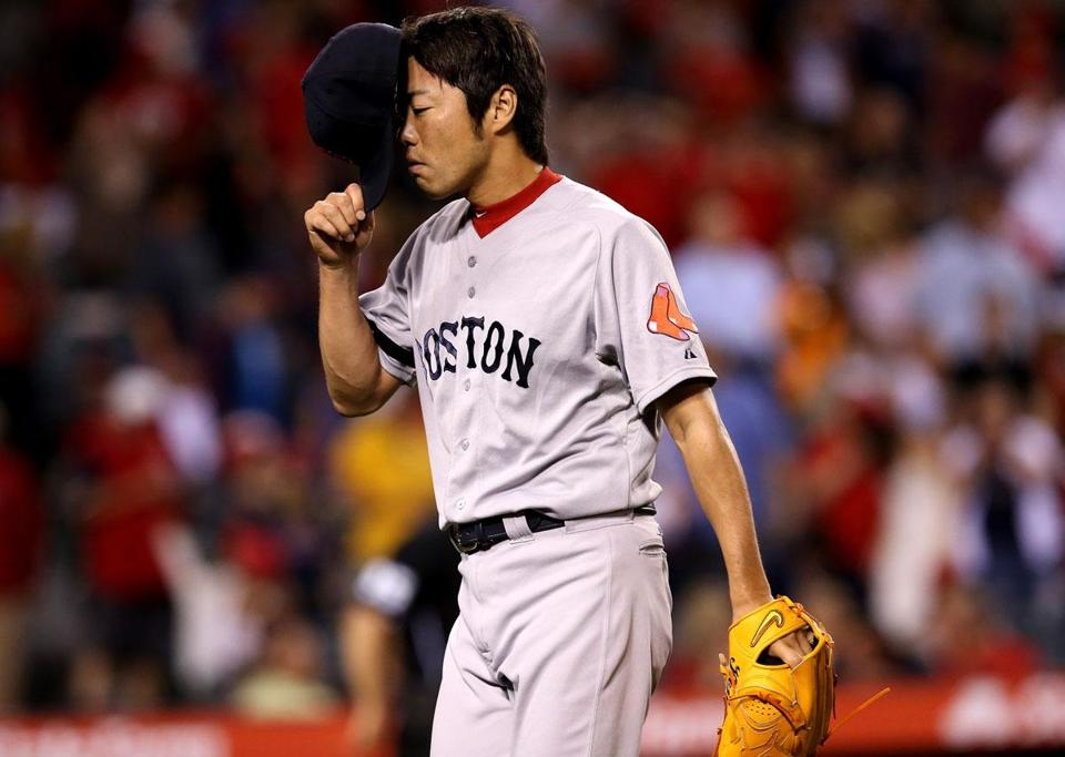 Even Koji Uehara gave up some big hits Saturday.