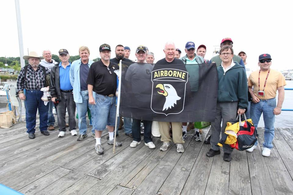 The 101st Airborne Association of Massachusetts and area veterans went on their annual fishing trip last week.