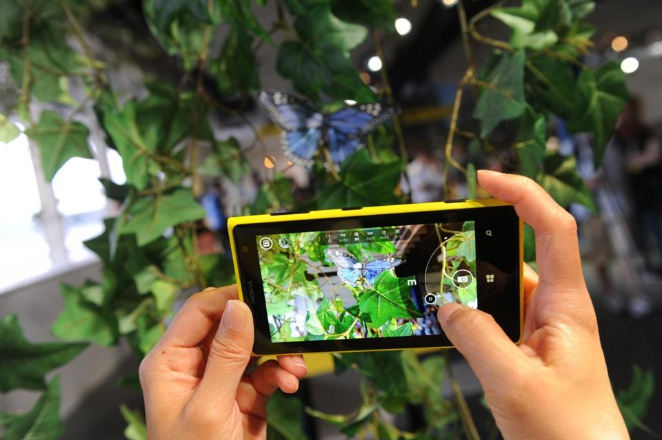 The Nokia Lumia 1020, with a 41-megapixel camera, will be available to consumers starting on July 26.