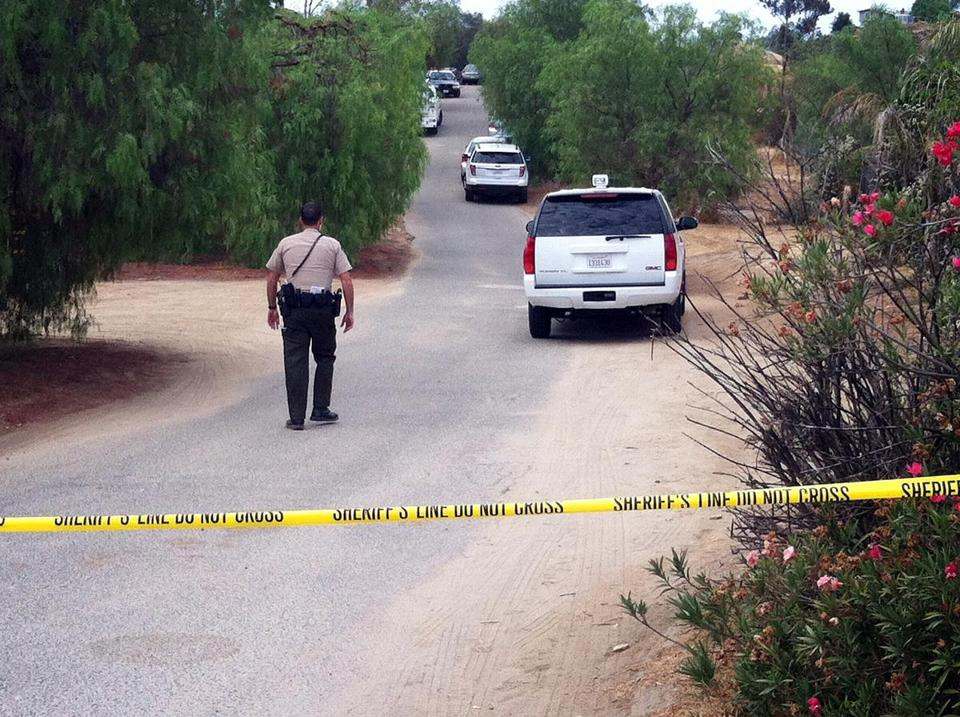 Officials closed a road Wednesday during the search for an 11-year-old autistic boy who disappeared from his Southern California home on Saturday.