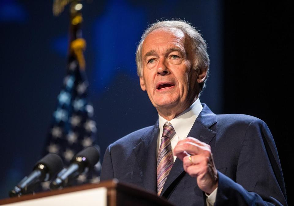 Consumers are paying heavily for wasted natural gas, a study released by Senator Edward J. Markey's office said.