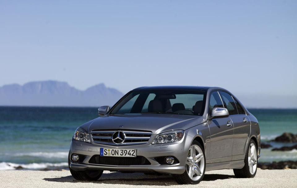 Mercedes C-Class vehicles from 2008 and 2009 are being reviewed.