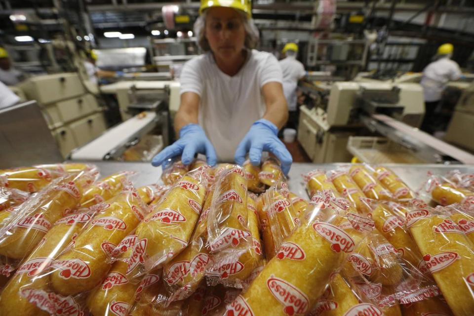 "Twinkies weigh a few grams less than they used to, and a Hostess spokeswoman said the change was made in ""mid-2012."""