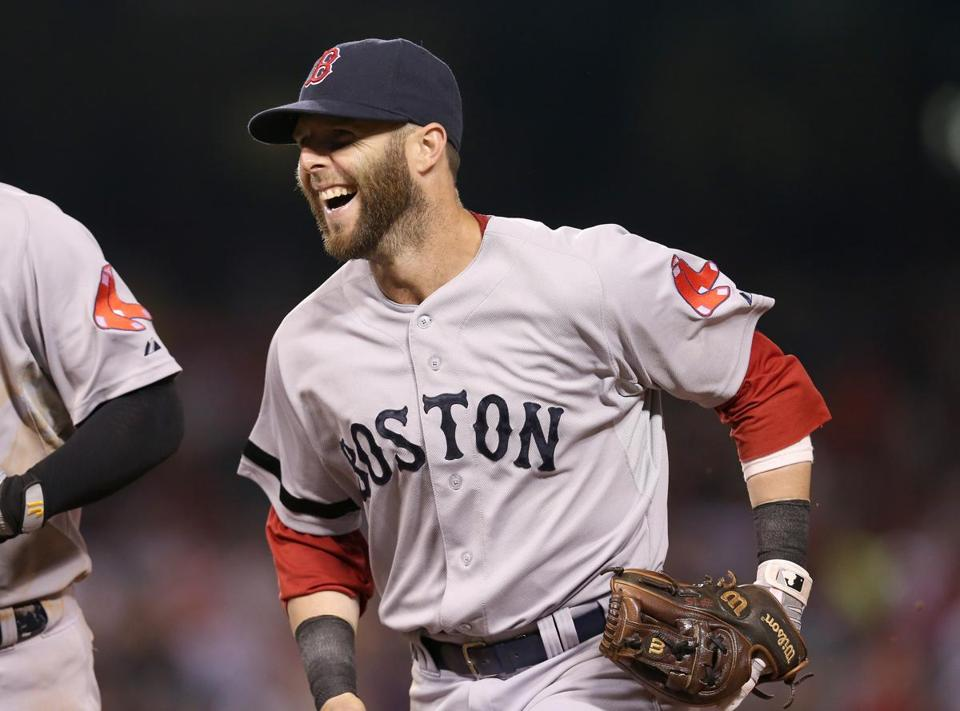 Dustin Pedroia and the Red Sox took a 58-39 record into the All-Star break.