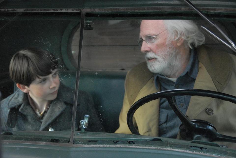 """Northern Borders'' stars Bruce Dern (right) and Brad Heck."