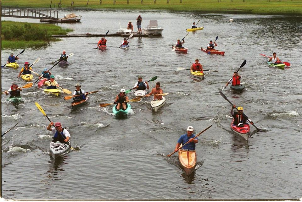 The 23d annual Great River Race on the North River will take place Saturday, starting at 10 a.m. in Norwell.