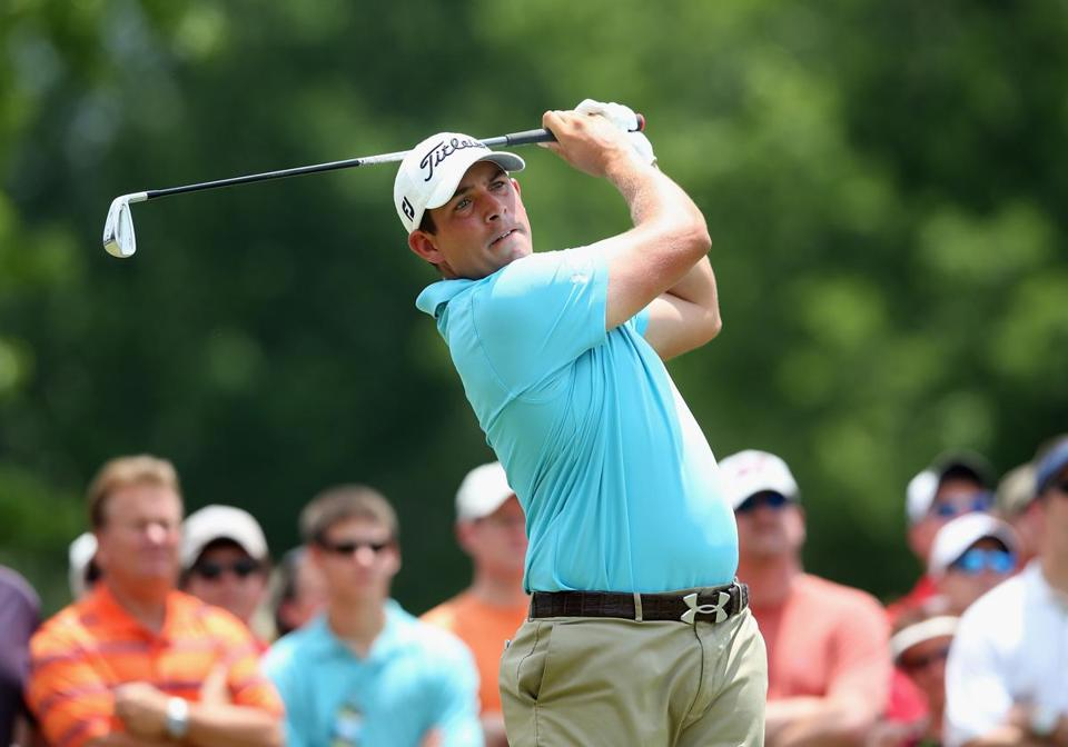 Worcester native Scott Stallings is making his British Open debut.