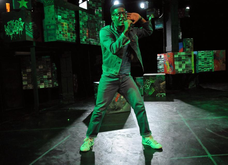 "Kadahj Bennett as young rapper Hank in Company One's ""How We Got On.''"