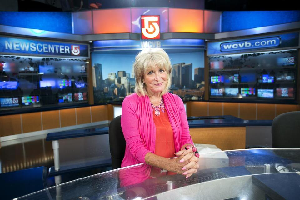 """I always believed that if I were a good, solid reporter, Boston audiences would accept me,"" said Channel 5's Susan Wornick."