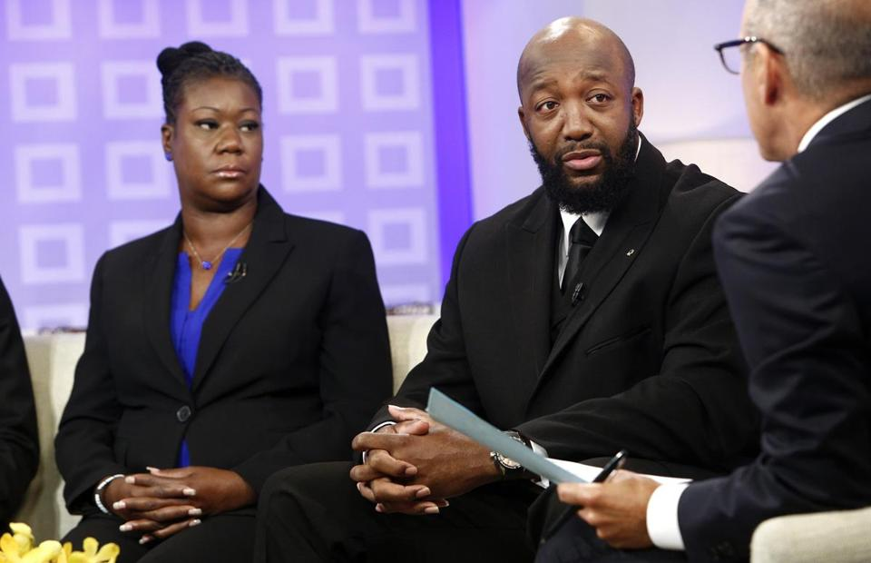 Sybrina Fulton and Tracy Martin said they think George Zimmerman profiled their son.