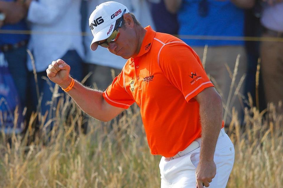 Lee Westwood has a two-shot lead going into the final round.