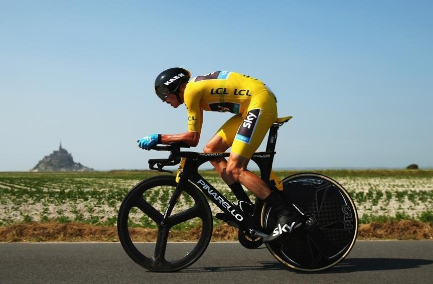 Christopher Froome of Great Britain and Team Sky Procycling is poised to win the Tour de France.