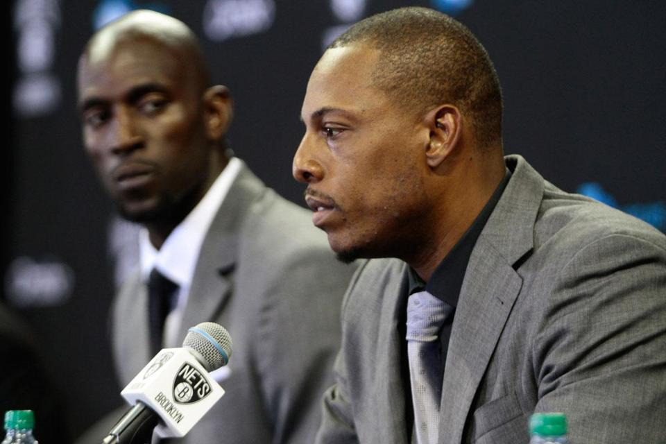 Kevin Garnett and Paul Pierce are now in Brooklyn.