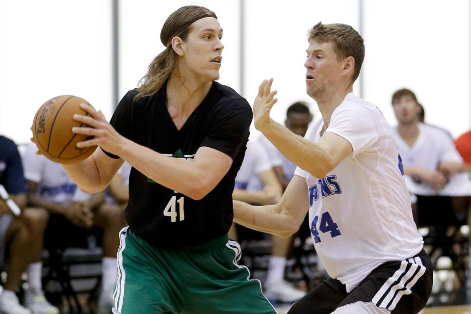 Kelly Olynyk displayed a variety of skills in summer league, averaging 18 points and 7.8 rebounds for the Celtics.