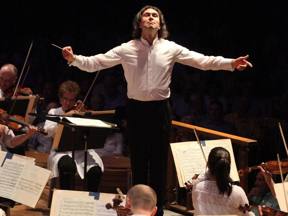 Vladimir Jurowski leading the BSO in his Tanglewood debut Friday.
