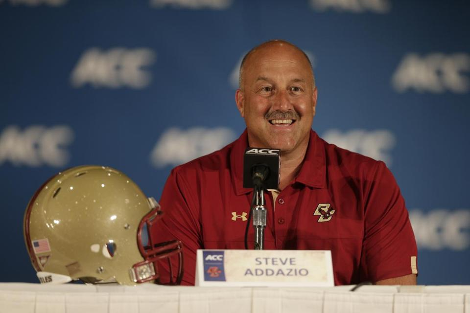 Steve Addazio and his staff use Twitter, Instagram, and Vine to market BC.