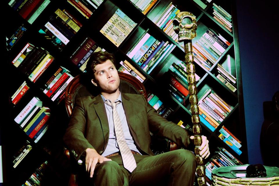 "Comedian and  co-head writer of ""Saturday Night Live"" Colin Jost photographed in his apartment in New York City."