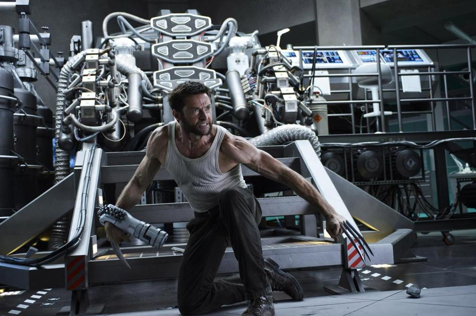 "Hugh Jackman stars in the title role in ""The Wolverine."""