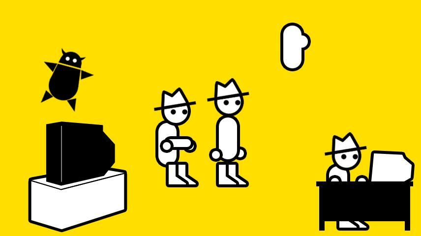 "In his game-review video series ""Zero Punctuation,"" Benjamin ""Yahtzee"" Croshaw (below) offers observations delivered as a series of still shots of rudimentary figures."