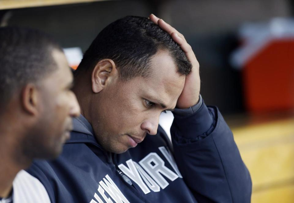 Alex Rodriguez obtained a medical opinion on his leg without team permission.