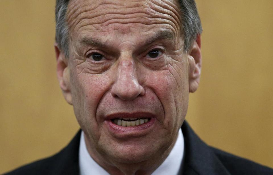 San Diego Mayor Bob Filner spoke during a news conference Friday at San Diego City Hall.