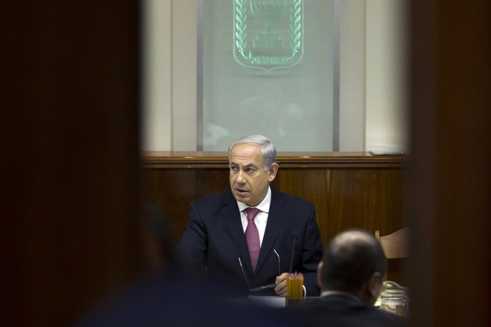 "Benjamin Netanyahu said ""tough decisions must be made for the good of the country."""